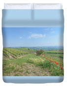 Vineyard In Italy Duvet Cover