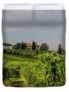 Vineyard View Duvet Cover