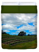 Vineyards In Paso Robles Duvet Cover