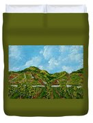 Vineyards Of The Wachau Valley Duvet Cover