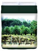 Vino Palmetto Duvet Cover