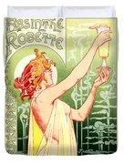 Vintage Absinthe Robette Poster Duvet Cover
