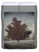 Vintage Autumn Moment Duvet Cover
