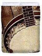 Vintage Banjo Barn Dance Duvet Cover