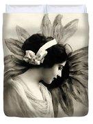 Vintage Beauty Duvet Cover