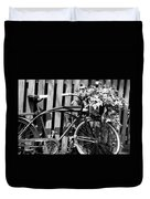 Vintage Bicycle  Duvet Cover