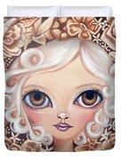 Vintage Blooms Duvet Cover