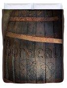 Vintage Bordeaux Wine Barrel Without Its X Duvet Cover