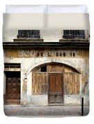 Vintage Boulangerie 1 Duvet Cover