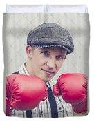 Vintage Boxers Duvet Cover