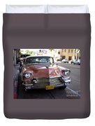 Vintage Cadillac. Luxury From The Past Duvet Cover