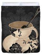 Vintage Cafe II Duvet Cover