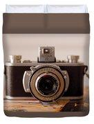 Vintage Camera C10i Duvet Cover