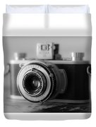 Vintage Camera C10p Duvet Cover