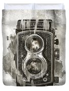Vintage Camera Duvet Cover