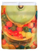 Vintage Candy Machine Duvet Cover