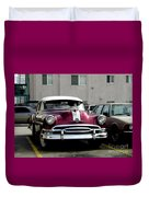 Vintage Car From 1940's Era Duvet Cover