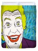 Vintage Cesar Romero's Joker Duvet Cover