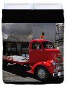 Vintage Chevrolet Truck Duvet Cover