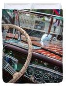 Vintage Chris Craft Duvet Cover