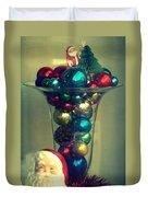Vintage Christmas Duvet Cover