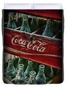 Vintage Coca Cola 1 Duvet Cover