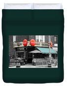 Vintage Coca Cola Signs Duvet Cover