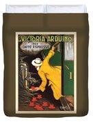 Vintage Coffee Advert - Circa 1920's Duvet Cover