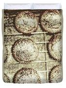 Vintage Cooking Background Duvet Cover