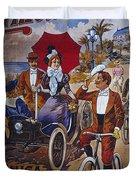 Vintage Cycle Poster Prinetti Stucchi Unica Grande Fabbrica Italiana Milano Duvet Cover