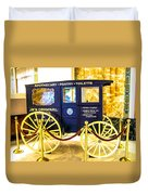 Vintage Delivery Wagon Duvet Cover
