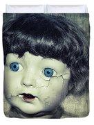 Vintage Doll Duvet Cover