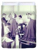 Vintage Dressmakers Duvet Cover