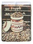 Vintage Drinks Decor  Duvet Cover
