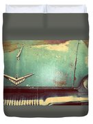 Vintage Effects Plymouth Hood Duvet Cover