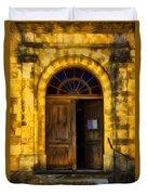 Vintage Entrance Duvet Cover
