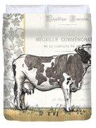 Vintage Farm 4 Duvet Cover