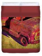 Vintage Firetruck Duvet Cover