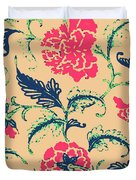 Vintage Flower Design Duvet Cover