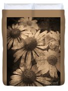 Vintage Flowers Duvet Cover