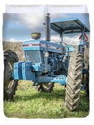 Vintage Ford 7610 Farm Tractor Duvet Cover