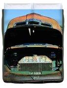 Vintage Ford Pickup Truck Duvet Cover