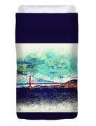 Vintage Golden Gate Duvet Cover
