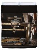 Vintage Grain Elevator Scale Duvet Cover