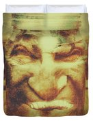 Vintage Halloween Horror Jar Duvet Cover