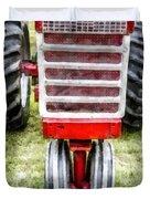 Vintage International Harvester Tractor Duvet Cover