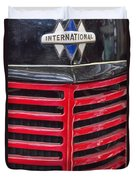 Vintage International Truck Duvet Cover