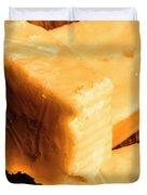 Vintage Italian Cheeses Duvet Cover