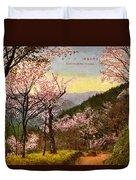 Vintage Japanese Art 14 Duvet Cover