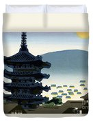 Vintage Japanese Art 9 Duvet Cover